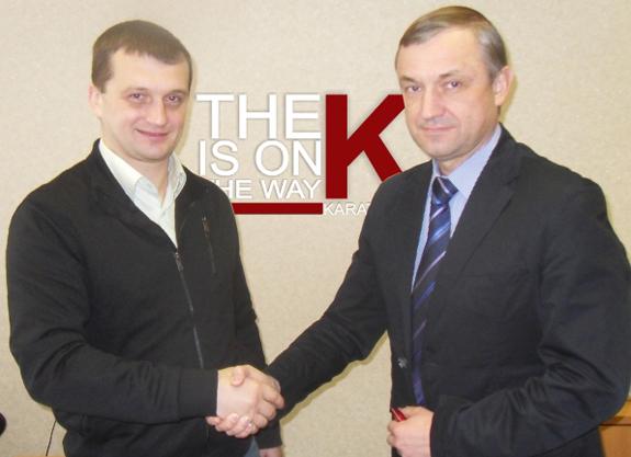Спортивная федерация глухих Украины с Украинской Федерацией Каратэ